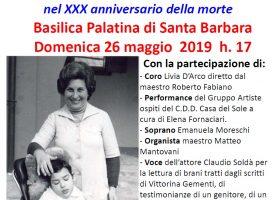 """Convegno 26 Maggio 2019 """"Omaggio alla vita"""""""